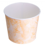 TYPE 90 1.18Ltr Ice Cream Cup - Peach Speckled